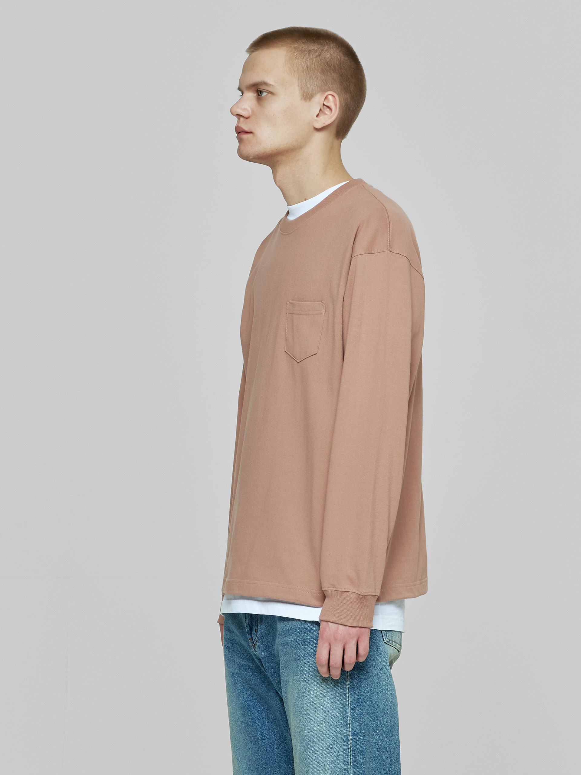 Лонгслив Heavyweghit Pocket L/S Tee